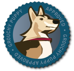 Grouchy-Puppy-Seal-Approval-Logo